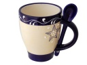 MUG CUILLERE SANS DECOR