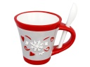 TASSE A CAFE CUILLERE FLOCON